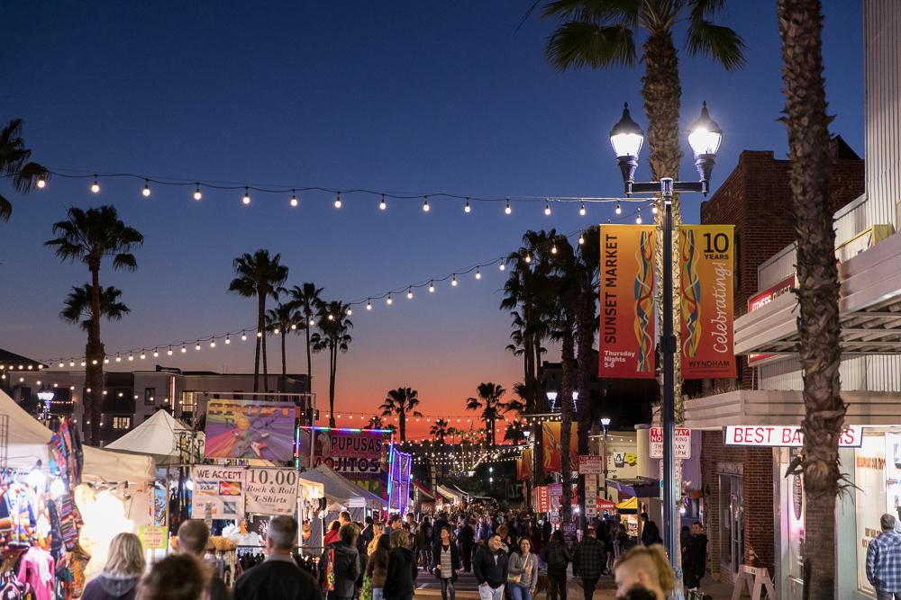 Pasar Malam Teratas di California